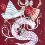 Francesca Colombo - marine wunderkammer - pearls - corals - velvet muray - jewels - wallpapers - Paris - illustration - Home Page